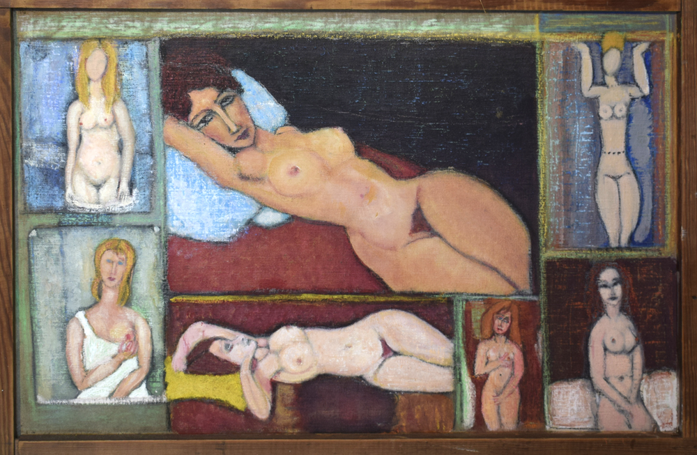 Compilation of nudes inspired by Modigliani works