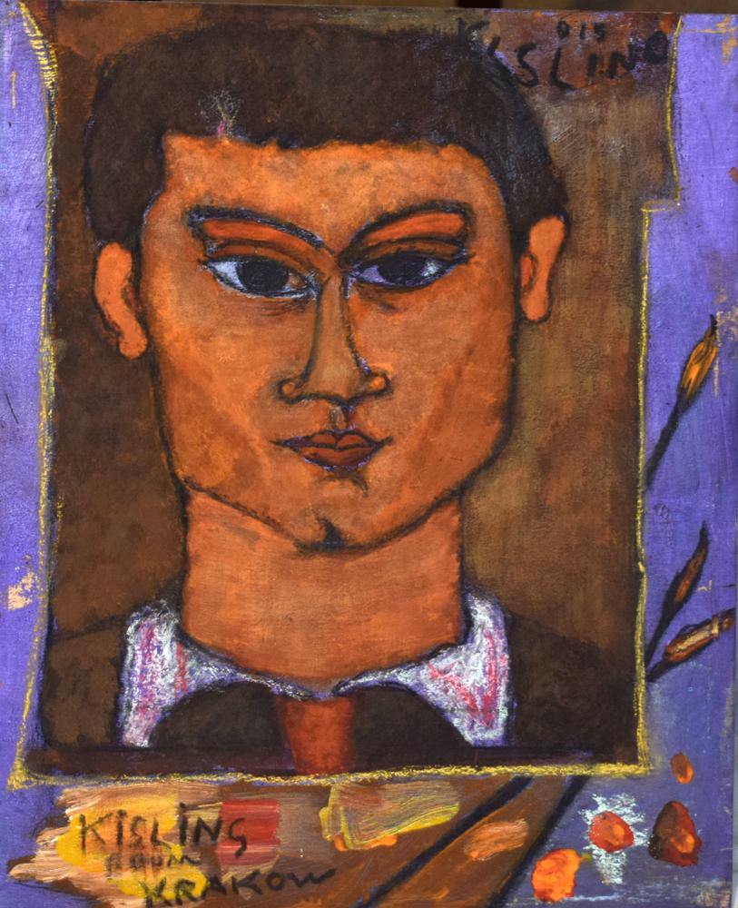 INspired by Modigliani's portrait of Moise Kisling